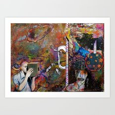Evaporating on the Edges Art Print