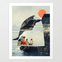 Rise to the Sun Art Print