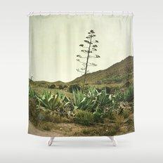 Le Nouveau Western Shower Curtain