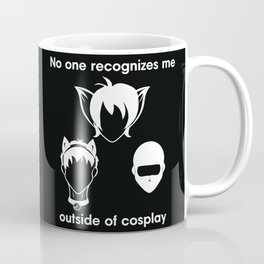 Recognize EAST TRIO- White Print Coffee Mug