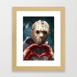 Love, Jason Framed Art Print