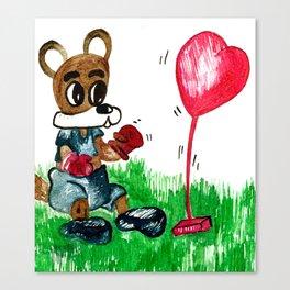 Love Fighter Canvas Print