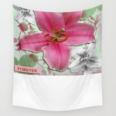 Forever Beautiful Wall Tapestry