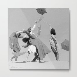 Umbrella ballet Metal Print