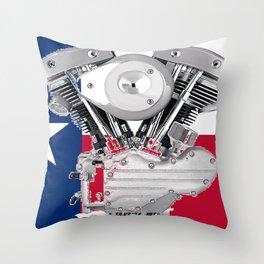 Texas Lone Star Shovel Throw Pillow