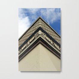 Corner Of Building Metal Print