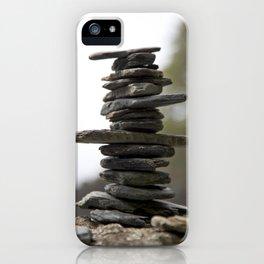 West Coast Inukshuk with Bokeh  #decor #society6 #buyart iPhone Case