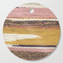 Pink Weaving Cutting Board