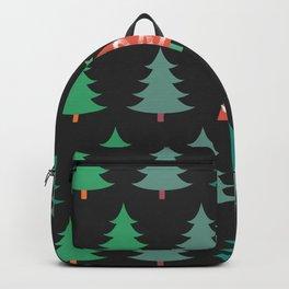 Be Unique - Folk Art Christmas Trees Backpack