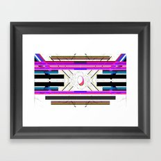 93 Framed Art Print