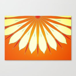 Flower upclose Canvas Print