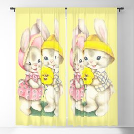 Bunny Girl + Boy Blackout Curtain