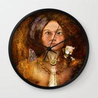 pagan Wall Clocks featuring Pagan Avatar by Bryan Dechter