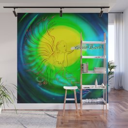 Fortune Angel Wall Mural