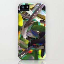 Manifest Feathers iPhone Case