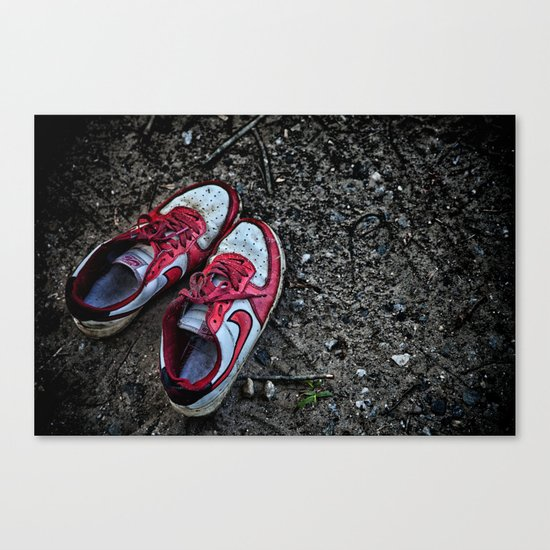 Literally Stepping Out Canvas Print