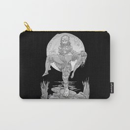 She Creature from the Black Lagoon B&W Carry-All Pouch