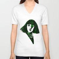 fringe V-neck T-shirts featuring fringe by fashionistheonlycure