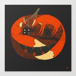 Pumpkin Story. Chapter 2 Canvas Print