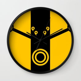 The Suit of Kage Wall Clock