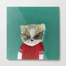 disheveled kitty Metal Print