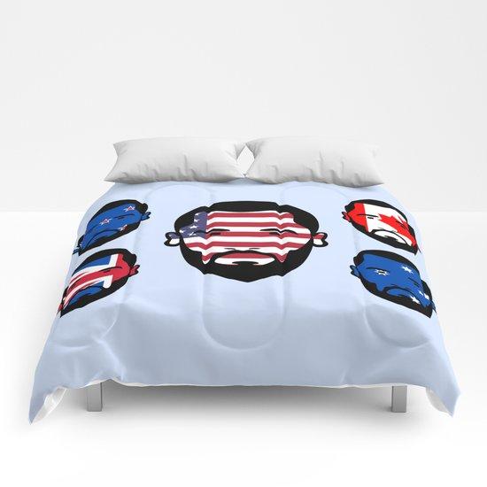 Spying The 5 Eyes Comforters