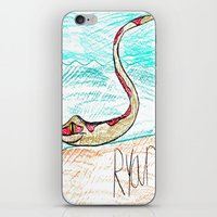 monty python iPhone & iPod Skins featuring The Python by Ryan van Gogh