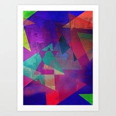 AZUL SKY Art Print