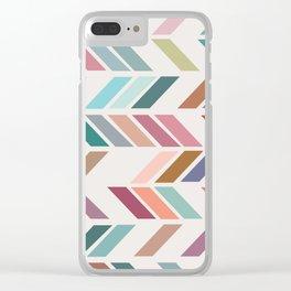 Meet Me Halfway No. 2 Clear iPhone Case