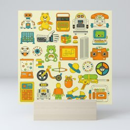 RETRO TOYS Mini Art Print