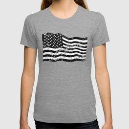 John Hancock Declaration of Independence Signature USA Flag design T-shirt