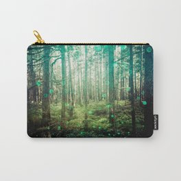 Magical Green Forest - Nature Photography Carry-All Pouch