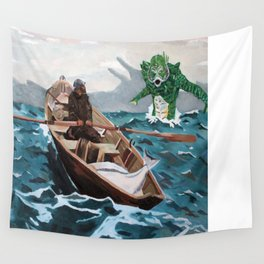 "Winslow Homer's ""Storm Warning"" Revisted Wall Tapestry"