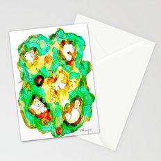Verde que te quiero verde Stationery Cards