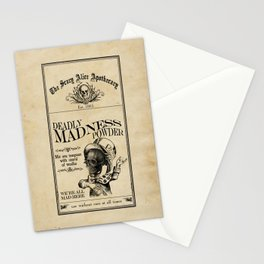 Scary Alice Apothecary - Mad Hatter Stationery Cards