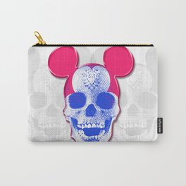 Mickey Mouse Skullface (aka Norman Bates' Dad) Carry-All Pouch