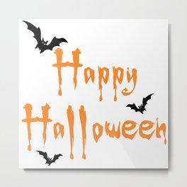 Halloween Scalable Metal Print