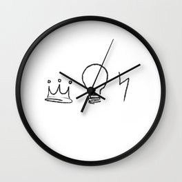 Golden Trio  Wall Clock
