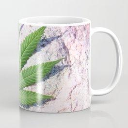 Cannabis On Stone Coffee Mug