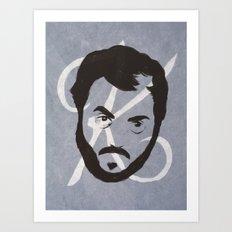 K is for Kubrick Art Print