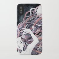 solar system iPhone & iPod Cases featuring Solar System by Mana De Alba