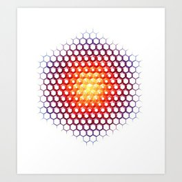 Solcryst Art Print