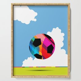 World Cup Soccer Serving Tray