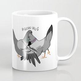 pigeon hug Coffee Mug