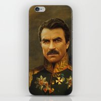 replaceface iPhone & iPod Skins featuring Tom Selleck - replaceface by replaceface