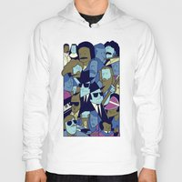 blues brothers Hoodies featuring The Blues Brothers by Ale Giorgini