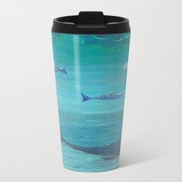 Over the sea Travel Mug