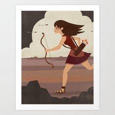 Archer Art Print