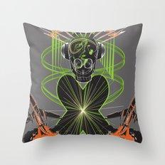 Sound Asylum Throw Pillow