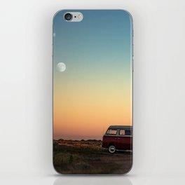 Combi moon iPhone Skin